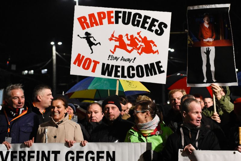 The Cologne sex assaults sparked mass protests in Germany and a surge in support for anti-Islam PEGIDA movement