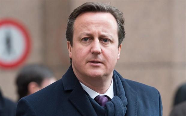 Former UK Prime MinisterDavid Cameron