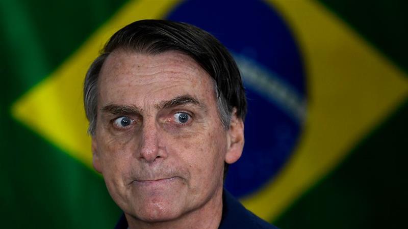 Brazil's new president Jair Bolsonaro.