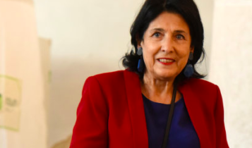 Georgian independent presidential candidate Salome Zurabishvili