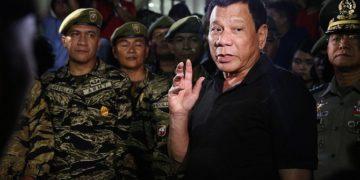 Philippines President Rodrigo Duterte and the army.