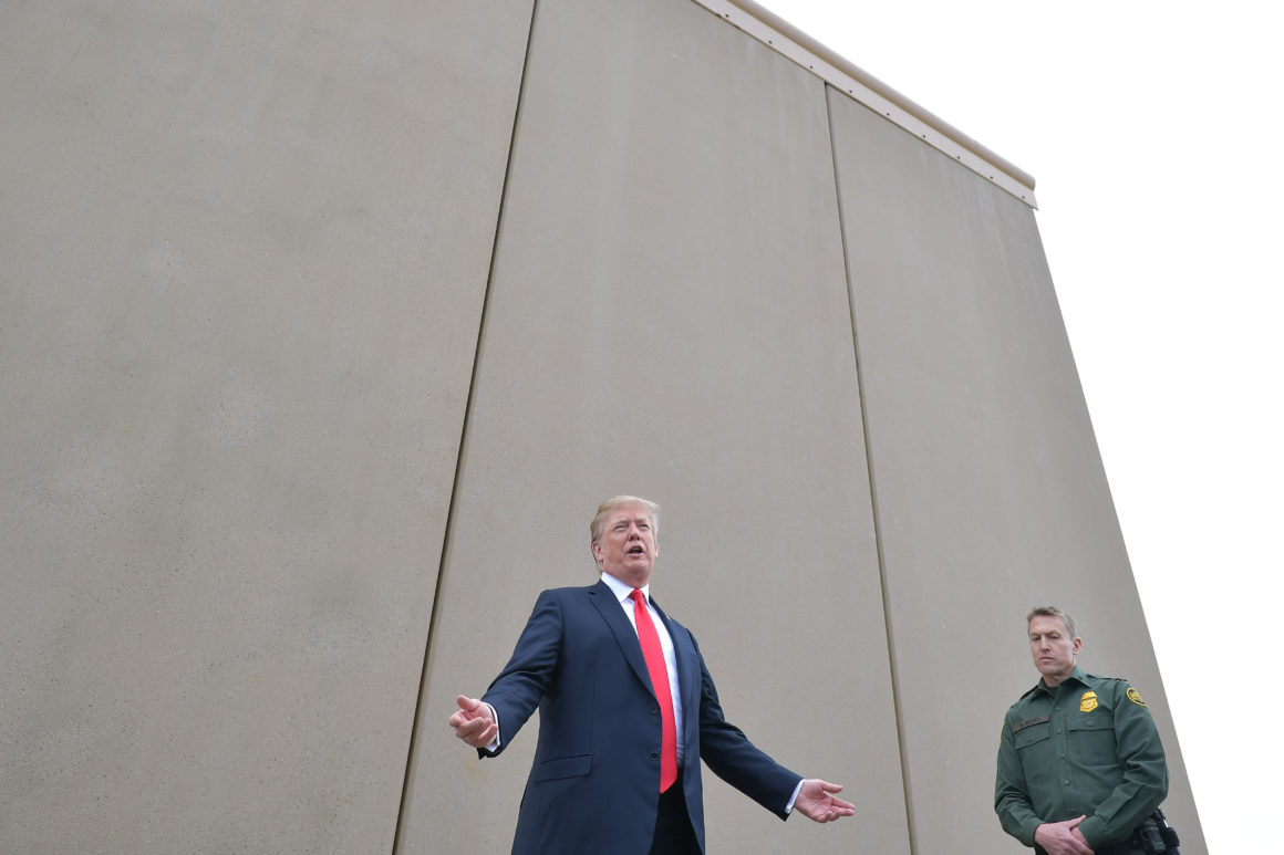 Pictures Of Us Building The Mexican Wall
