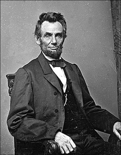 16th US President Abraham Lincoln