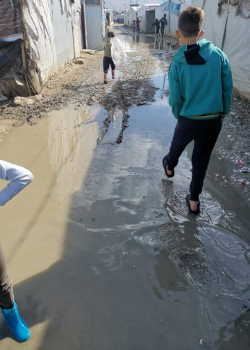 Two storm have caused heavy flooding in Syrian refugee camps in Lebanon