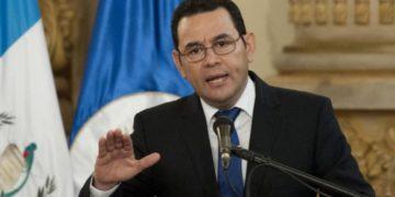 Guatemala's President Jimmy Morales