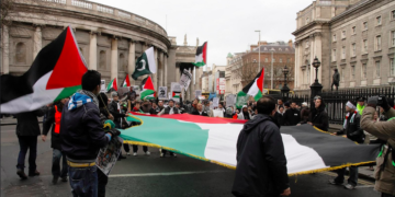 Gaza rally in Ireland