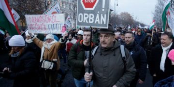 "A new Hungarian policy on overtime, denounced as a ""slave law,"" seems to be uniting the country in opposition against Viktor Orban"