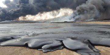 Iraq oil pollution