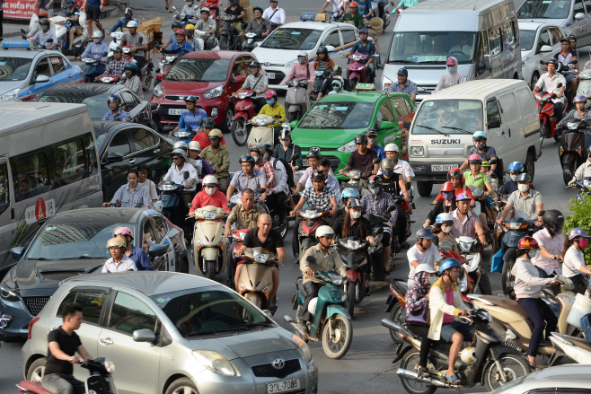 Southeast Asia is notorious for serious traffic congestion