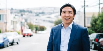 2020 Democratic Presidential candidate Andrew Yang