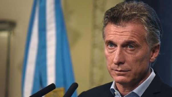 President of Argentina Mauricio Macri