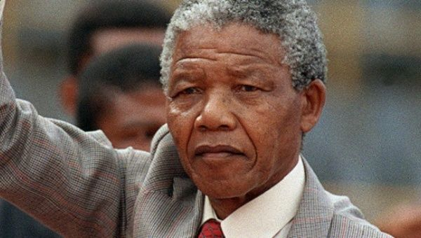 Late South African leader Nelson Mandela