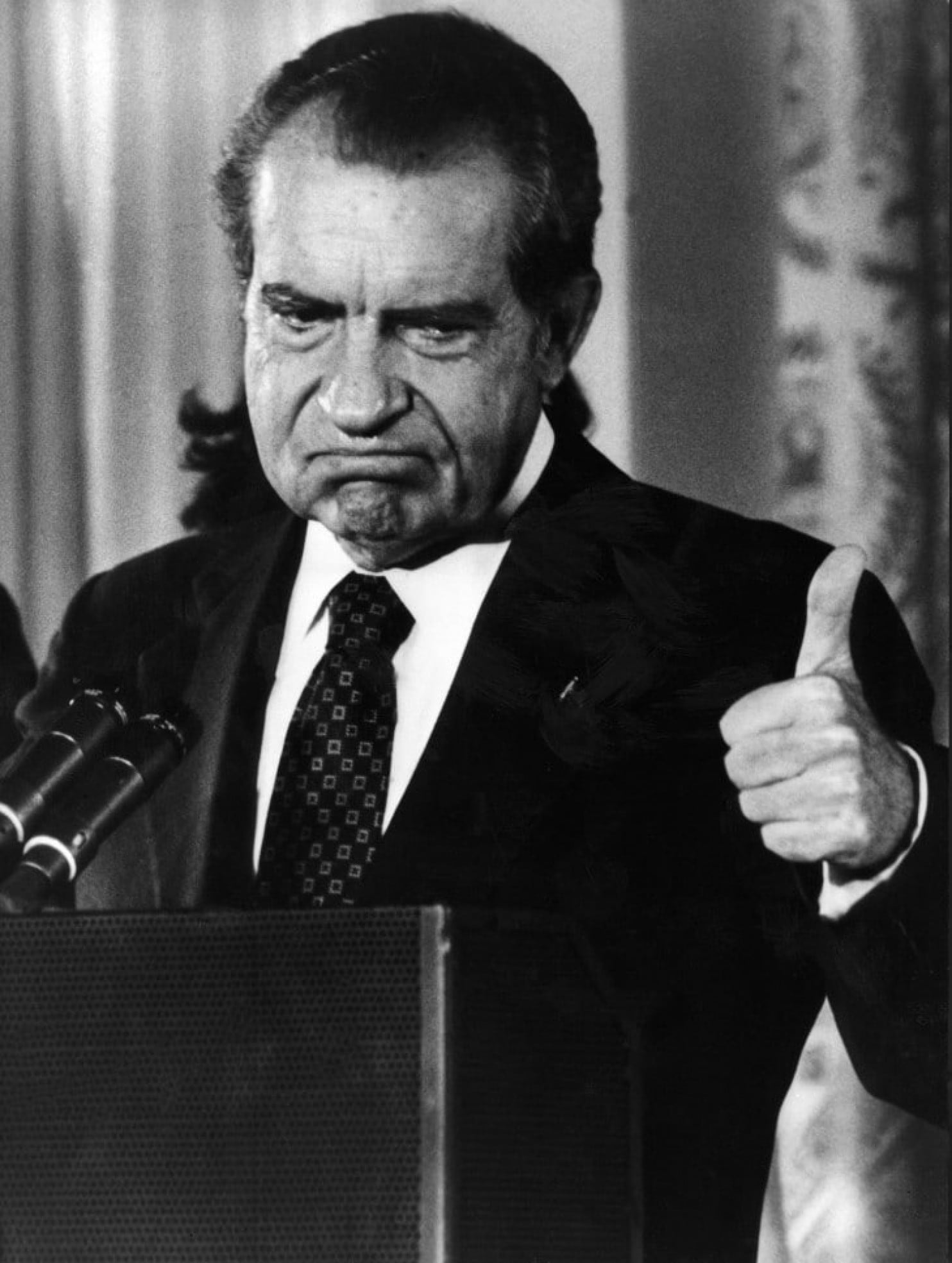 Richard Nixon in 1974
