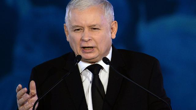 Poland's Leader of the Law and Justice party Jaroslaw Kaczynski