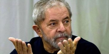 Former Brazilian President and Worker's Party founder Luiz Inacio Lula da Silva.