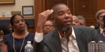 Writer Ta-Nehisi Coates speaks about reparations before the House Judiciary Committee on June 19, 2019.