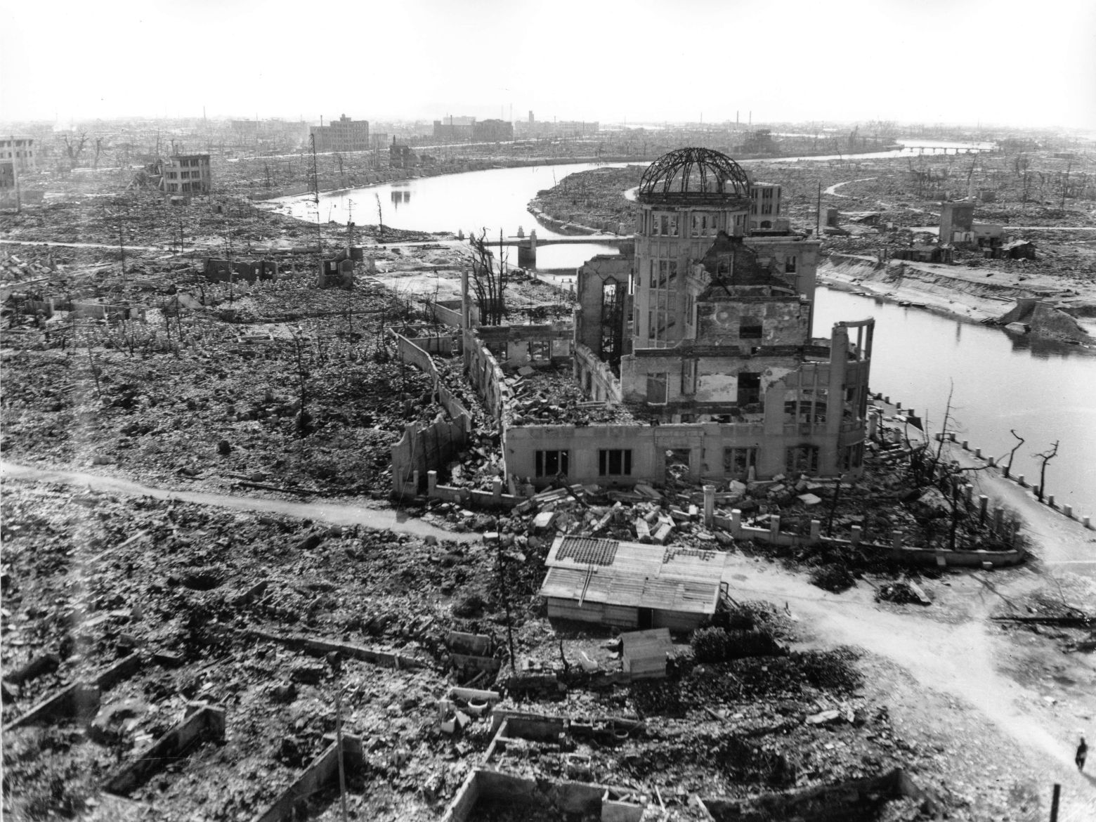 Hiroshima, three months after the atomic bomb was dropped