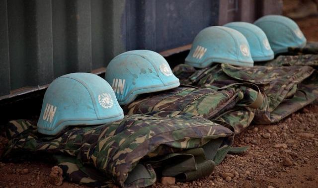 Uniforms of UN peacekeepers