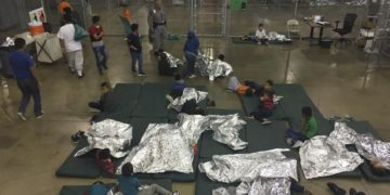 Minors detained in US custody after being apprehended by immigration officials.
