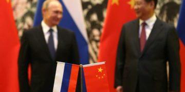 China's Xi Jinping and Russia's Vladimir Putin.