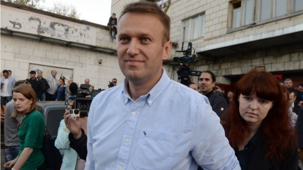 Alexei Navalny Releases Recording Of Call To His Alleged