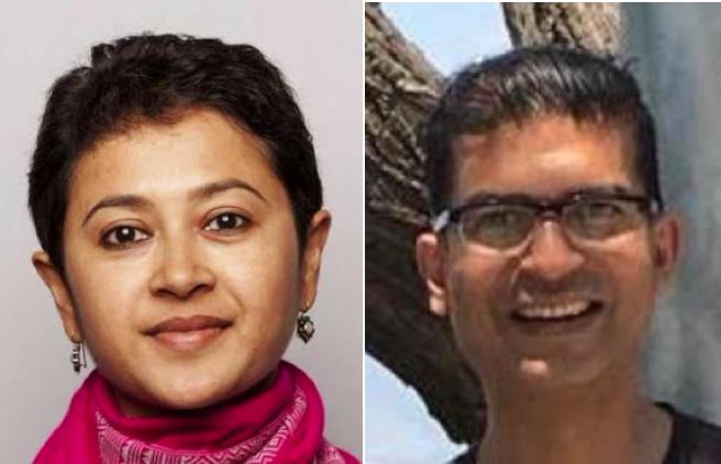 Malini Sur and Rakesh Kumar