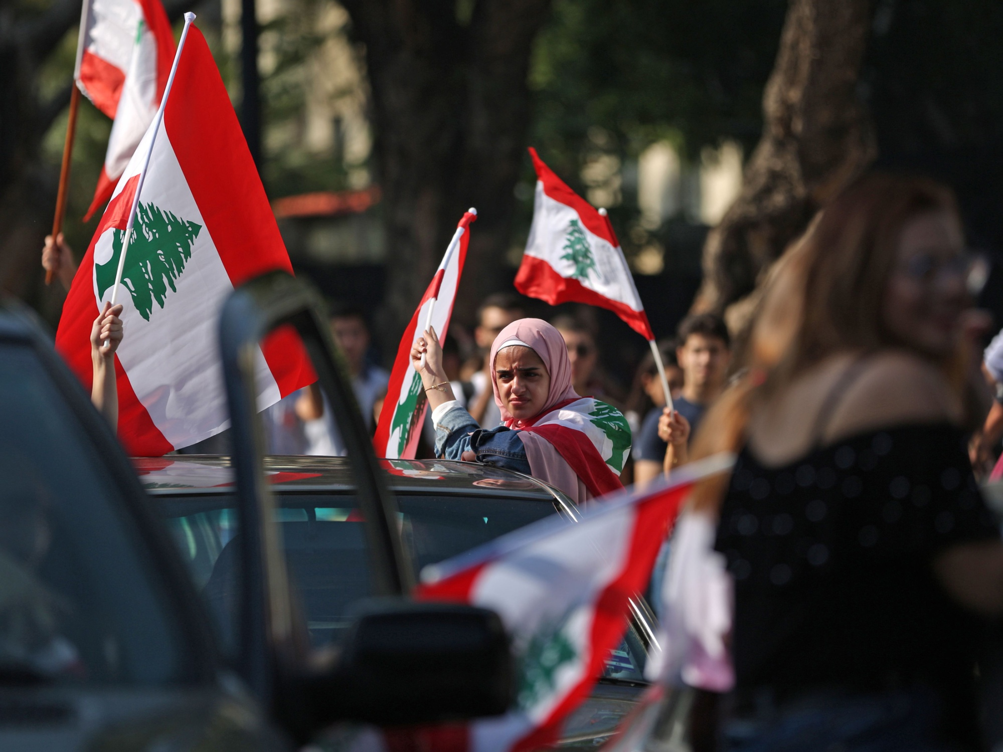 The Lebanese people have been protesting since October.