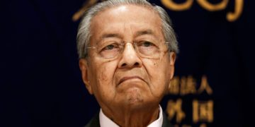 Malaysia's previous Prime Minister Mahathir Mohamad