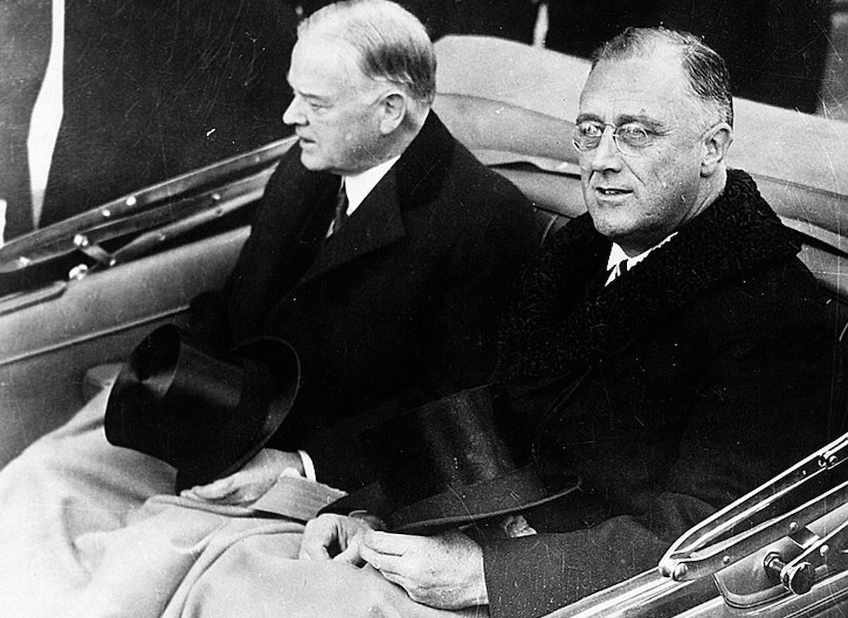 Hoover-Roosevelt in Washington