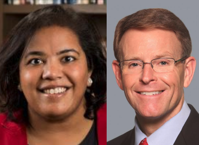 Anurima Bhargava and Tony Perkins