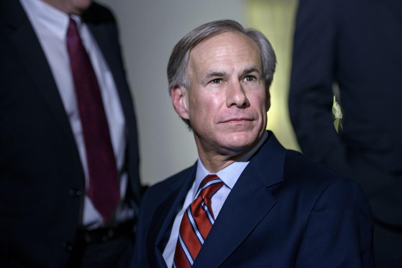 Texas Governor-elect Greg Abbott after a meeting at the White House on December 5, 2014. Photo: Brendan Smialowski/AFP.