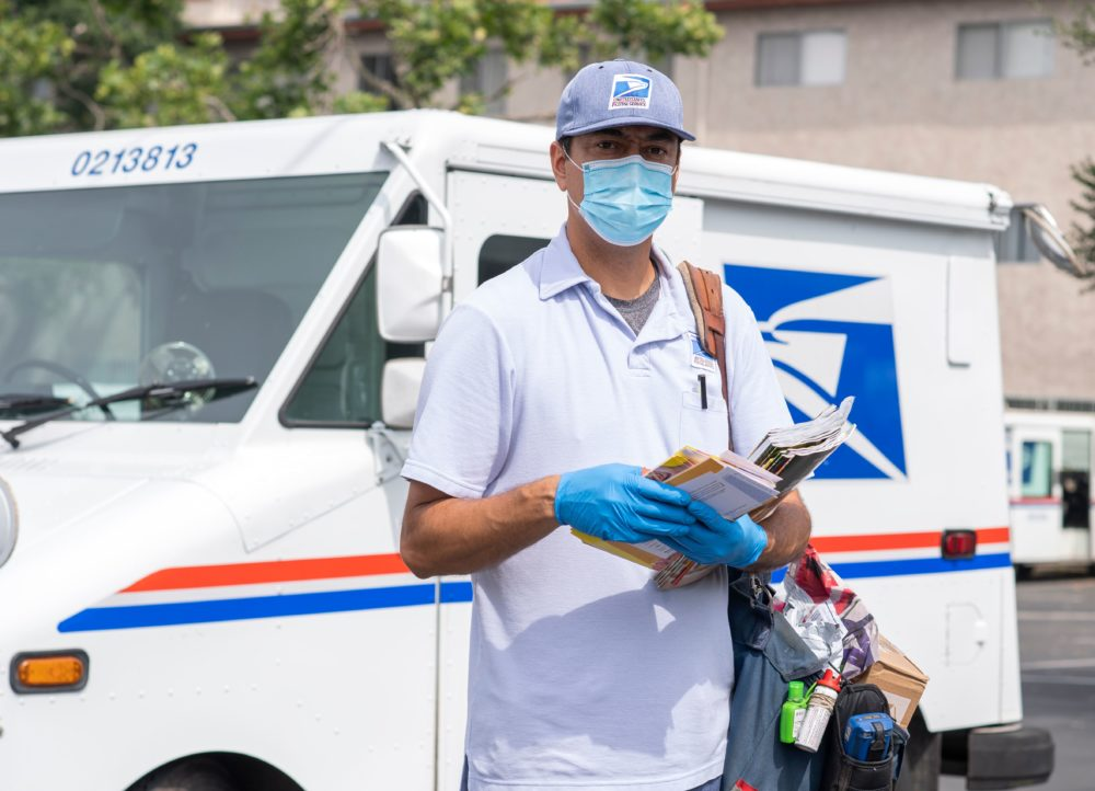 postal worker usps face mask