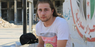 Award-winning Syrian photojournalist Ameer Alhalbi.