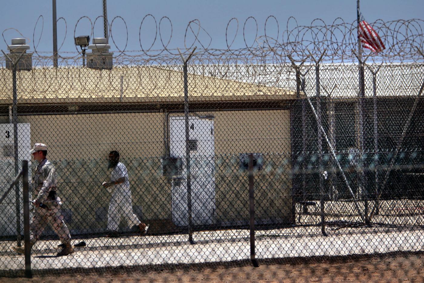 The US prison camp at Guantanamo Bay.