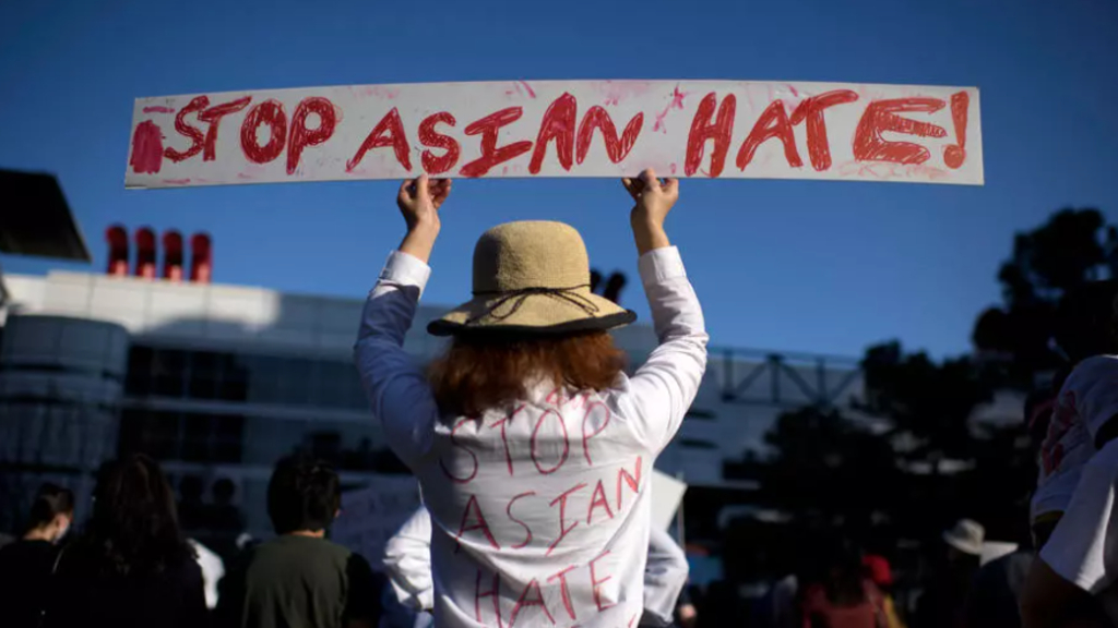 The US has seen a surge in anti-Asian violence in the past year, which activists have blamed on former President Donald Trump's rhetoric.
